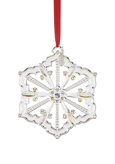 Lenox® 2019 Snow Majesty Snowflake Ornament 15th in