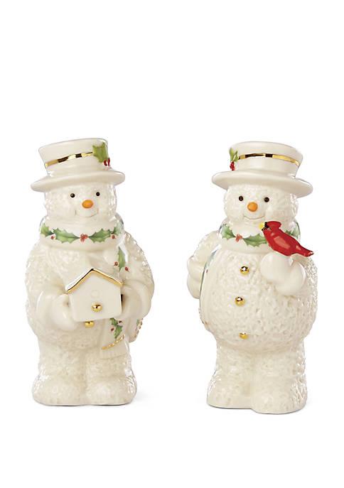 Lenox® Snowman Salt & Pepper Set