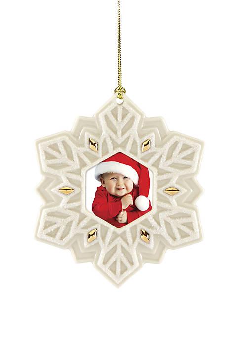 Lenox® 2019 Snowflake Frame Ornament