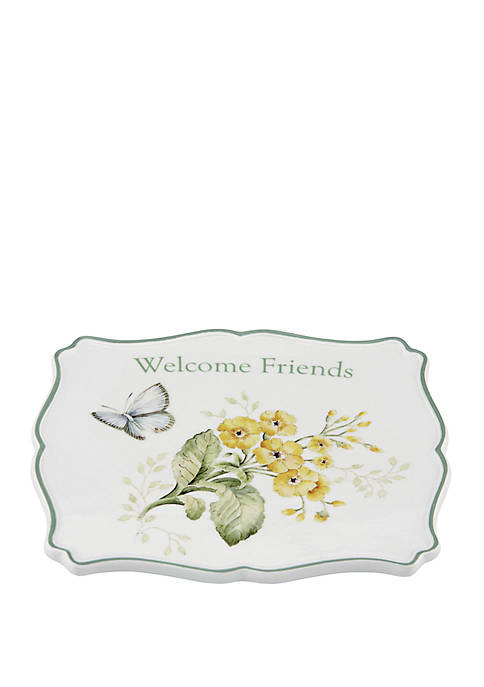 Lenox® Butterfly Meadow Sentiment Trivet