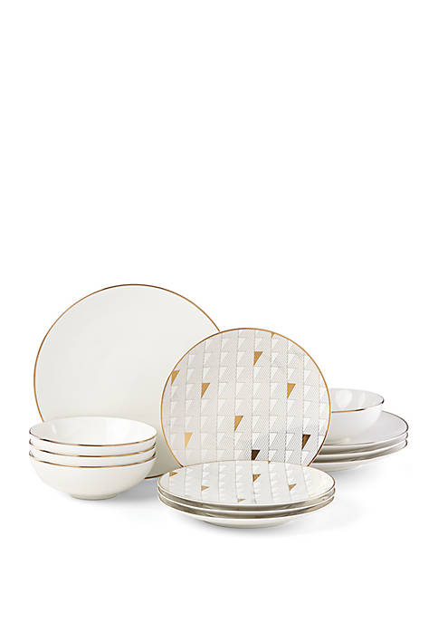 Lenox® Trianna 12 Piece Dinnerware Set