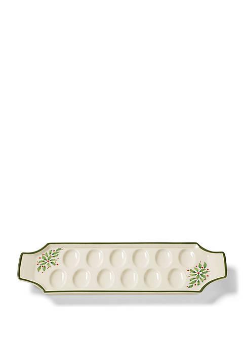 Lenox® Holiday Egg Tray