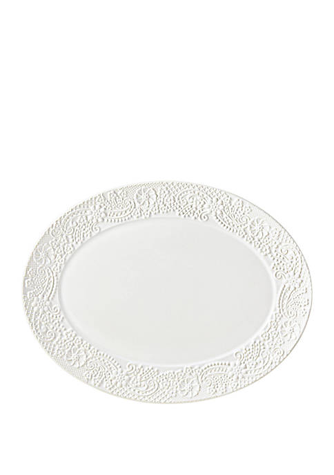 Lenox® Chelse Muse Flowing Floral Oval Platter