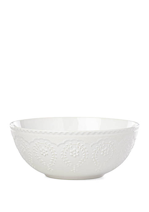 Chelse Muse Flowing Floral Oval Platter