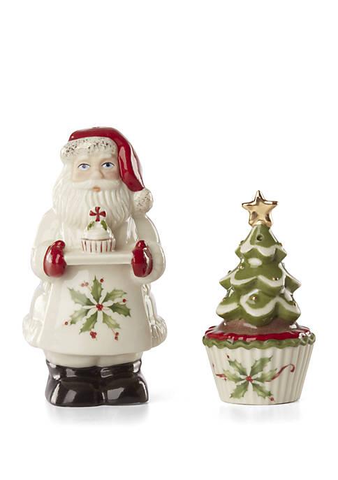 Lenox® Bakeshop Santa Salt & Pepper Set