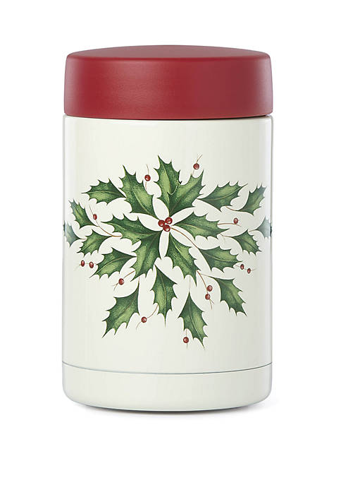 Lenox® Holiday Insulated Large 16 Ounce Food Container