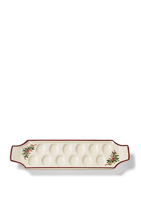 Lenox® Winter Greetings Egg Tray