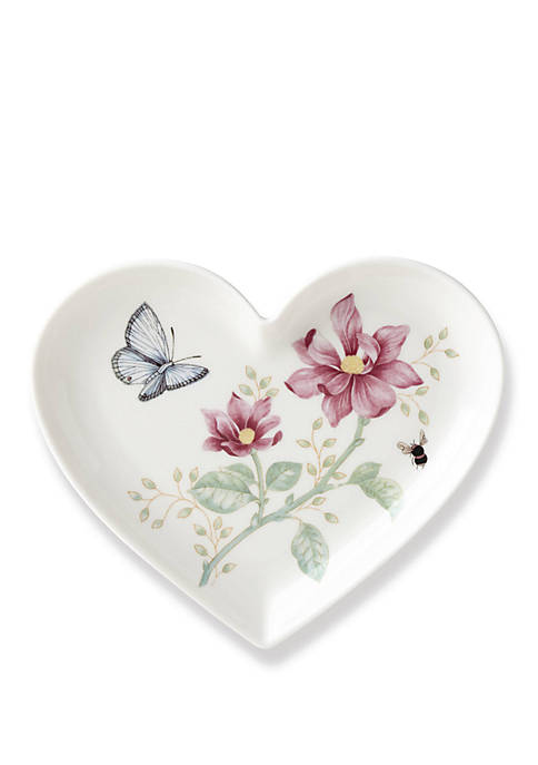 Lenox® Butterfly Meadow Heart Dish