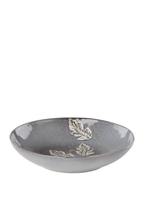 Textured Neutrals Serving Bowl