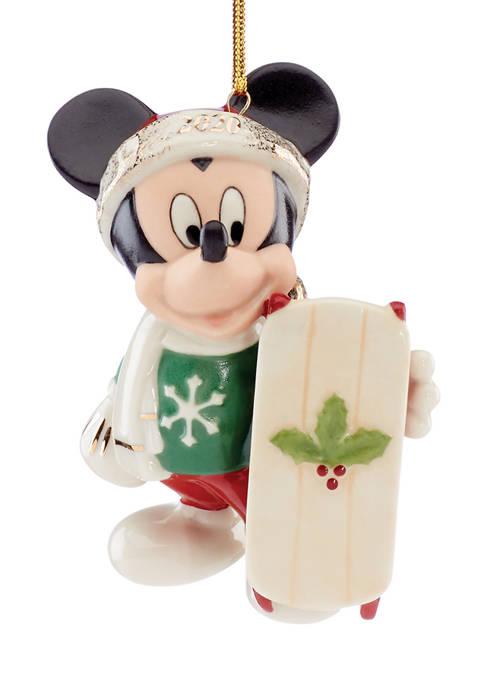 Lenox® 2020 Let It Snow Mickey Ornament
