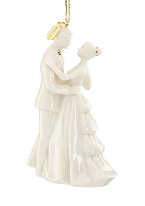 Lenox® 2020 Bride and Groom Ornament