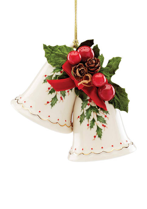 Holiday Bells Figural Ornament