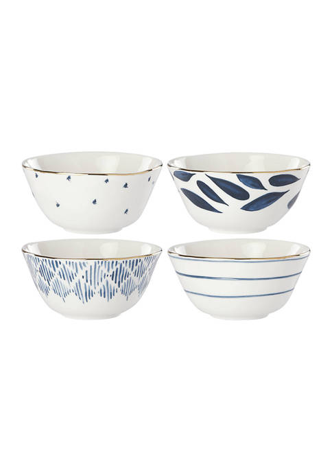 Lenox® Blue Bay Set of 4 Dessert Bowls