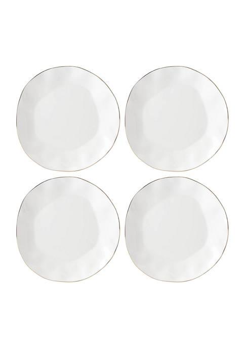 Lenox® Blue Bay Set of 4 Dinner Plates
