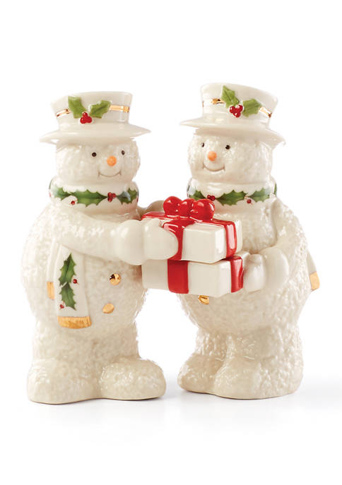 Lenox® Snowman Salt & Pepper