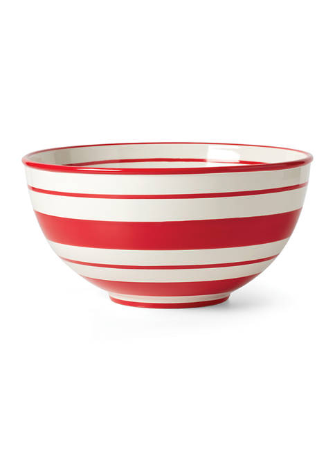 Lenox® Hand Painted Stripe Large Mixing Bowl