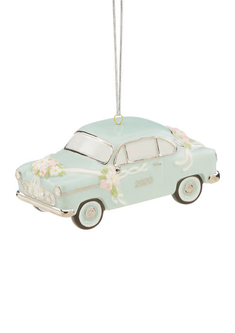 Lenox® 2020 Just Married Vintage Car Ornament