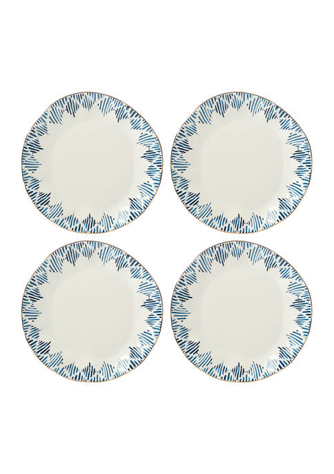 Lenox® Blue Bay Set of 4 Dinner Plates