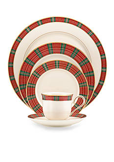 Lenox® Winter Greetings Plaid Dinnerware