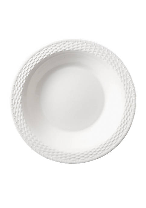 Nantucket Basket Pasta Plate