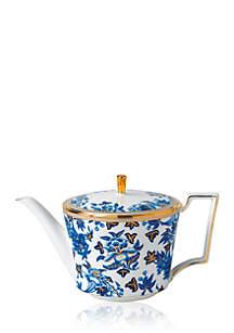 Wedgwood Hibiscus Blue Teapot