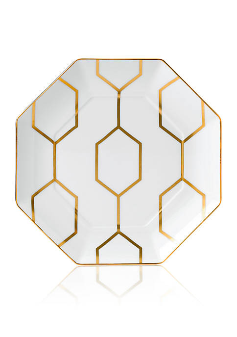 Wedgwood Arris Octagonal White Accent Plate