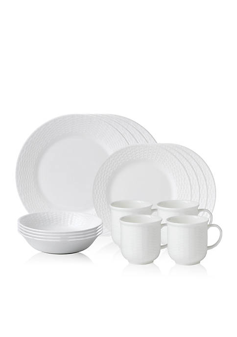 Nantucket Basket 16-Piece Place Setting