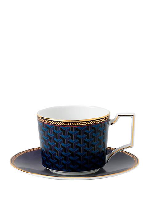 Wedgwood Byzance Teacup and Saucer Set