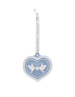Wedgwood Christmas Ornaments 2019.2019 Our 1st Christmas Ornament