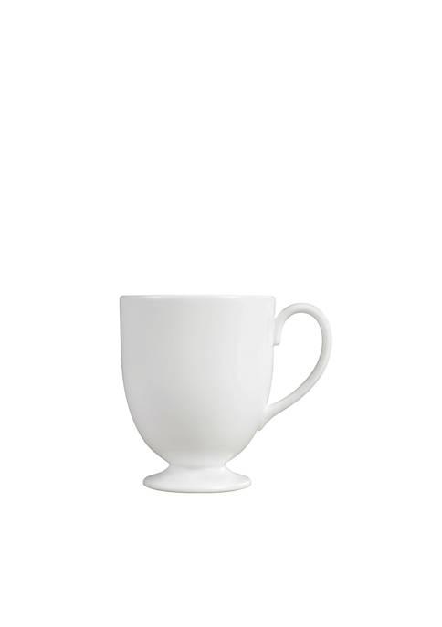 White Footed Mug