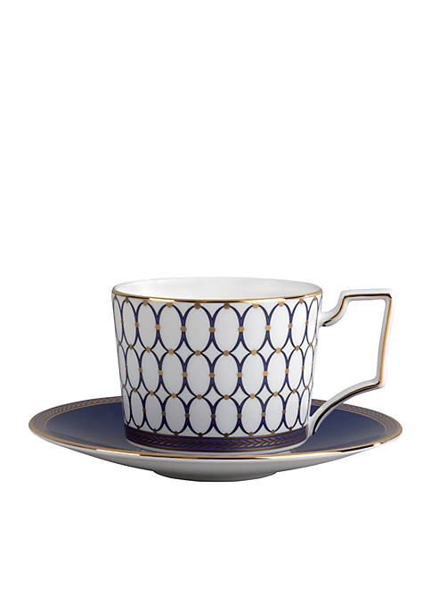Wedgwood Renaissance Gold Saucer 6-in.