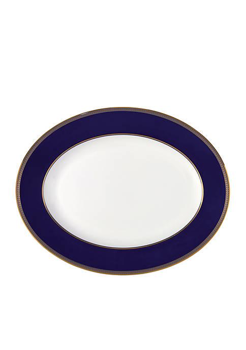 Renaissance Gold Oval Platter 14-in.