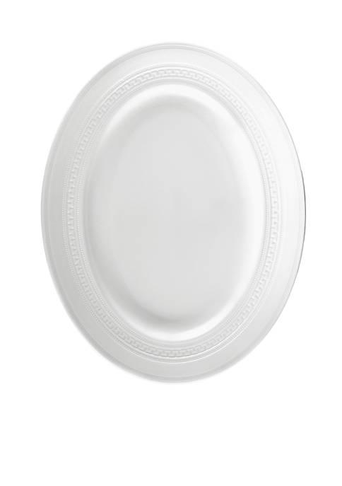 Intaglio Oval Platter