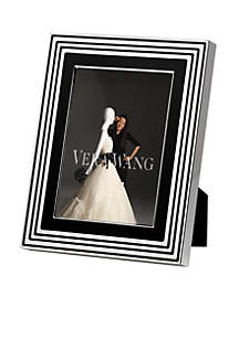 With Love Noir Silver 5x7 Frame
