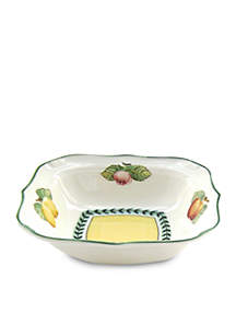 French Garden Fleurence Square Individual Bowl