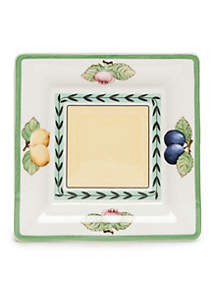 French Garden Square Bread And Butter Plate