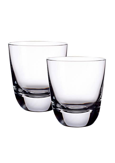 Set of 2 Straight Bourbon Glasses