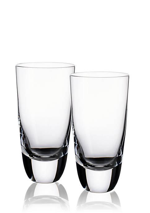 Set of 2 Straight Bourbon Highballs