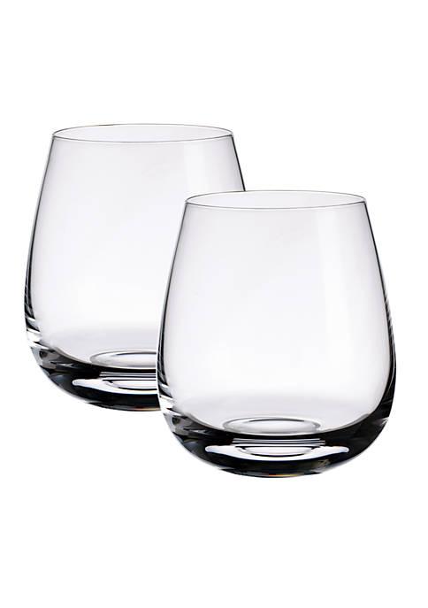 Set of 2 Single Malt Whiskey Tumblers
