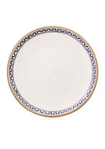 Artesano Provencal Lavender 10.5-in White Well Dinner Plate
