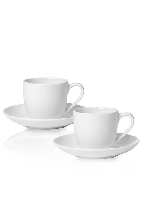 For Me Espresso Cup & Saucer : Set of 2