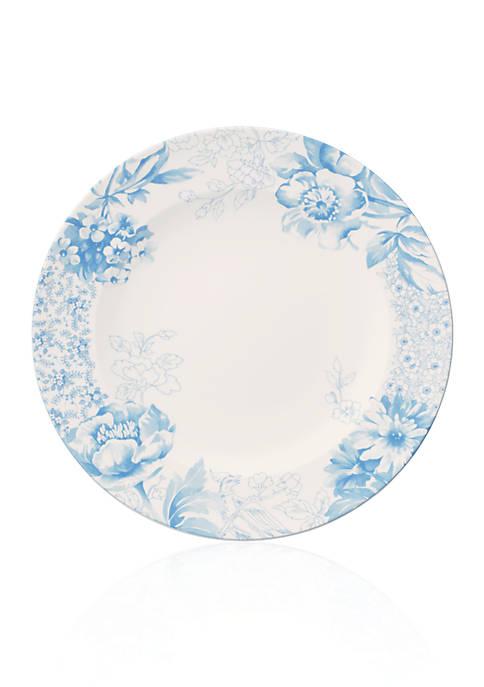 Floreana Blue 10.5-in. Dinner Plate