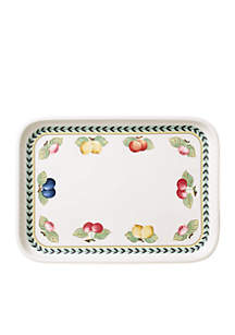 Large Rectangular Serving Plate w/ Lid