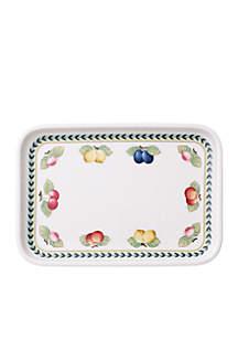 Rectangular Serving Plate w/Lid