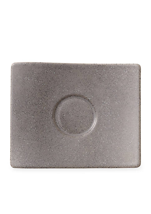 New Wave Stone Espresso Saucer, 6.25-in.