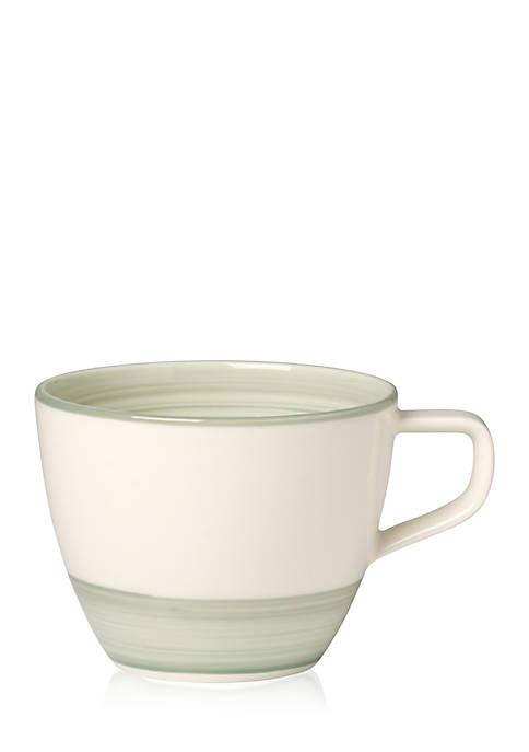 Artesano Nature Vert Tea Cup, 8.5-oz.