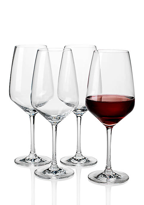 Voice Basic Red Wine Glass, Set of 4