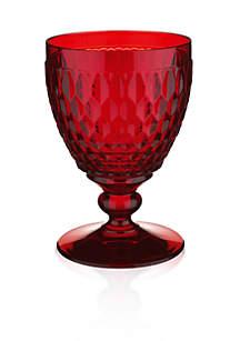 Boston Red Goblet