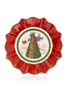 Toy's Fantasy Large Bowl - Christmas Tree
