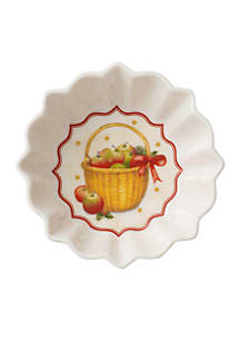 Toy\u2019s Fantasy Basket of Apples Small Candy Dish